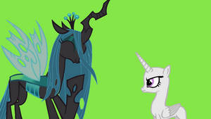 Hey Chrisalis stop laught at me by flutershyfriend