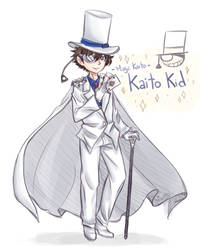 [Commish May] - Magic Kaito Kid by YeralzZ-Chu