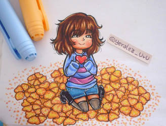 Traditional Frisk - UNDERTALE- by YeralzZ-Chu