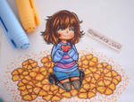 Traditional Frisk - UNDERTALE-
