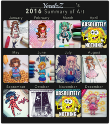 YeralzZ's Summary of Art 2016! by YeralzZ-Chu