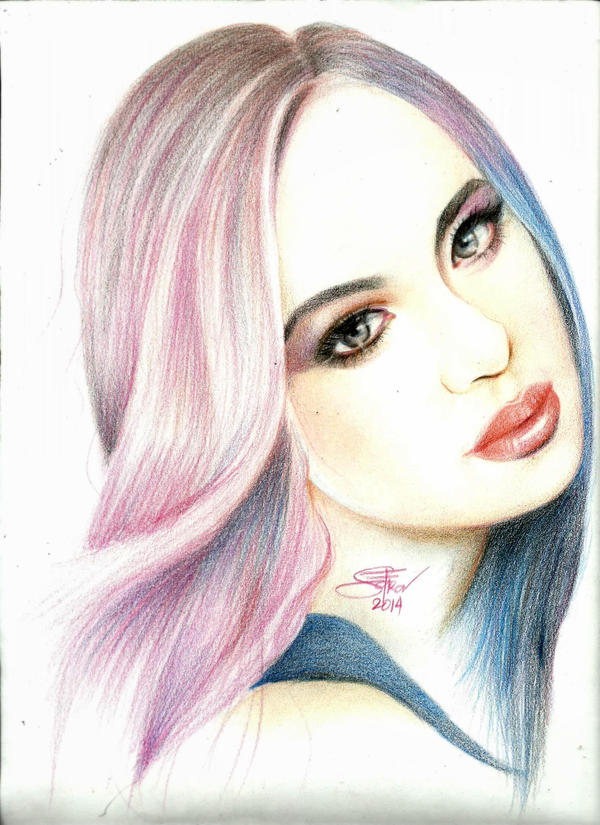 Color pencil sketch by nakedcrayon23