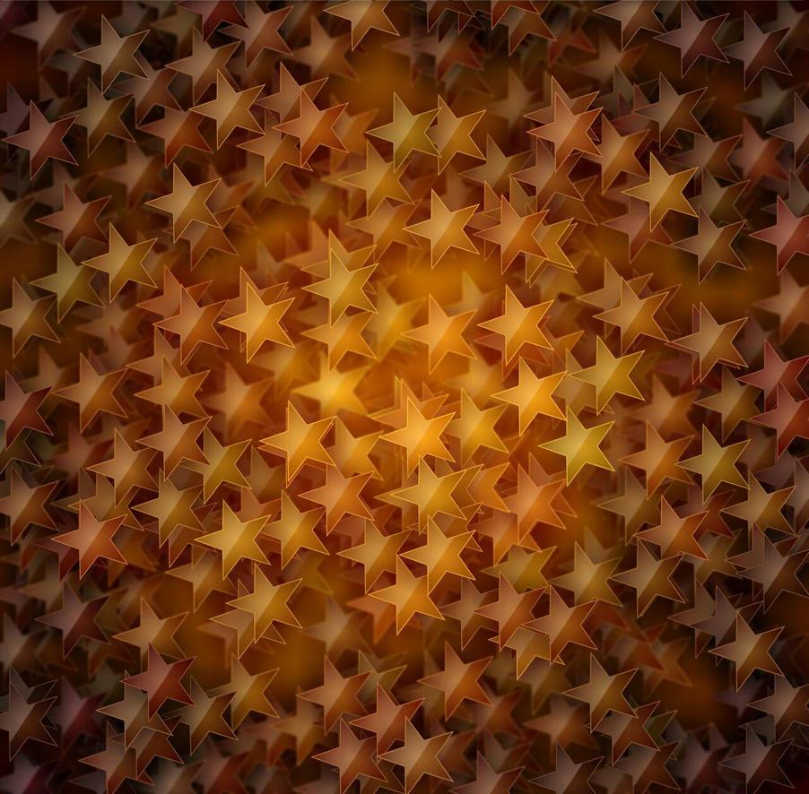Gold Stars by KirstenStar