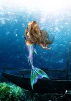 Curious Mermaid by KirstenStar