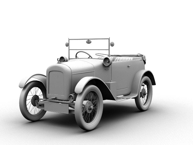 Classic Car Model By Summertasticc On DeviantArt - Old cars model