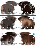 Adoption litter 3 by WildForests-Stables