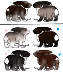 Adoption litter 6 by WildForests-Stables