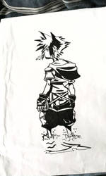Sora -KH2- by 0mnislasher