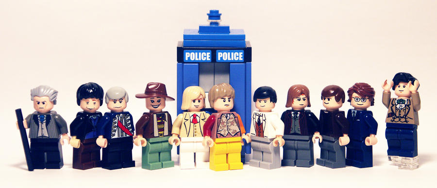 The 11 Doctors by AndrewStone
