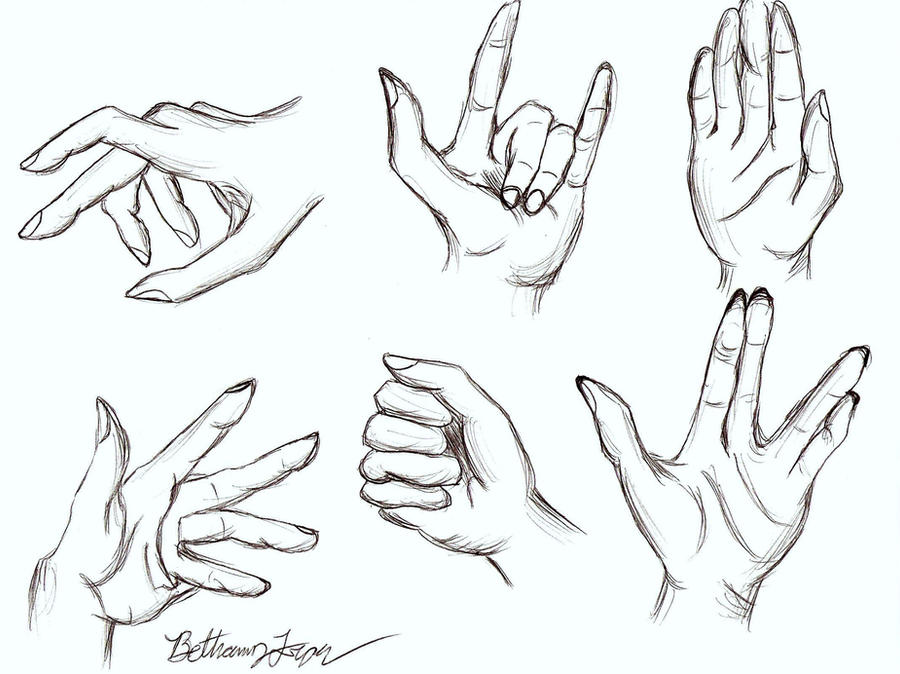 Anatomy of A Hand by Katniss-Tribute12 on DeviantArt