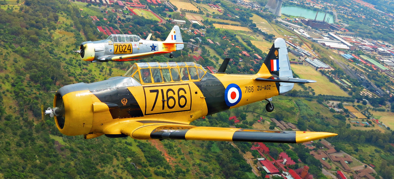 Harvard Formation Flying by skylark1983