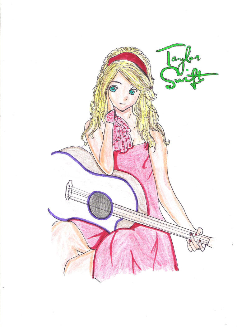 Anime Taylor Swift