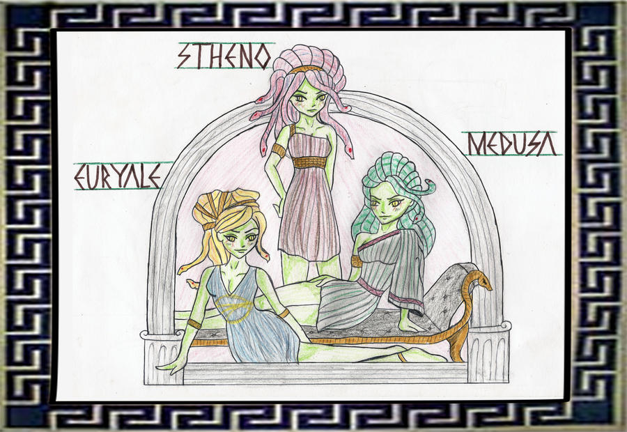 Gorgon Sisters Picture, Gorgon Sisters Image | 900 x 620 jpeg 167kB