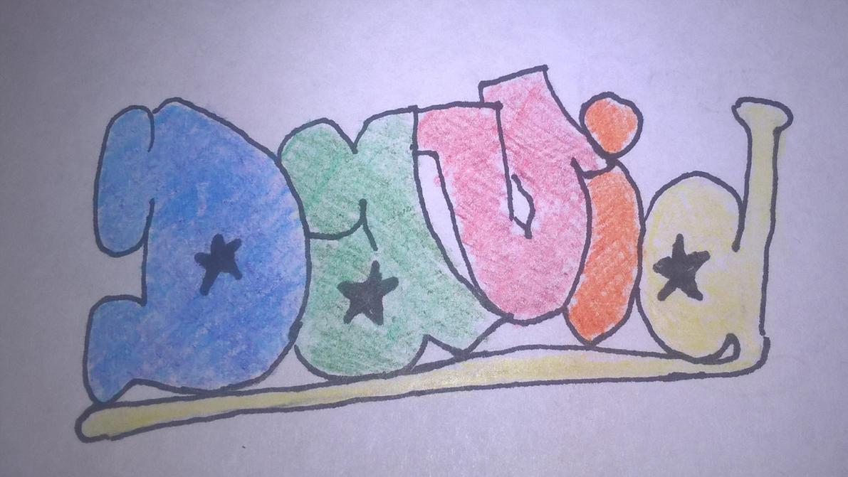 My name in BubbleLetters by Akumu2200