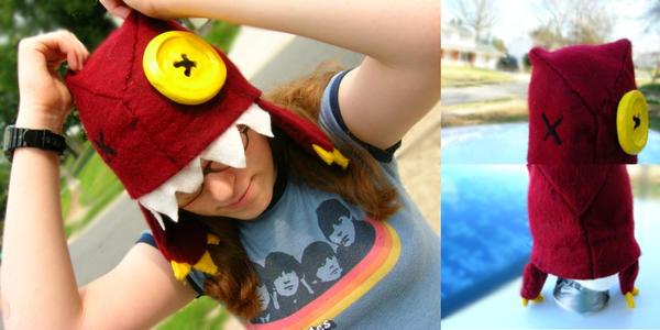 Monster hat by shenanigancrafts