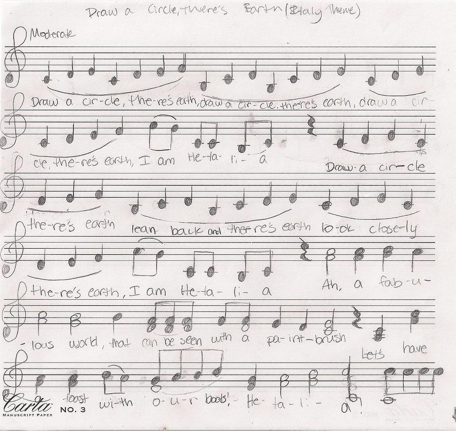 Hetalia Theme Sheet Music 1 By Staralaura On Deviantart