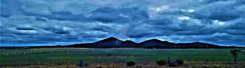 You Yangs in colour
