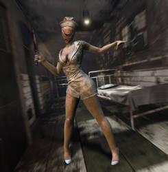 Dark Deception Silent Hill Nurse
