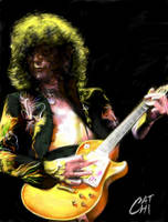 Jimmy Page by galean