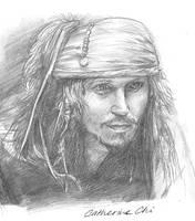 Captain Jack Sparrow by galean