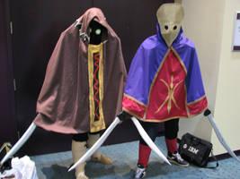 Master Garo cosplay