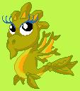 Baby Seaweed Dragon - DragonVale Dragon by Ivysaur98