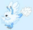 Baby Snow Dragon - DragonVale Dragon by Ivysaur98