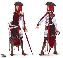 Kimanona's costume
