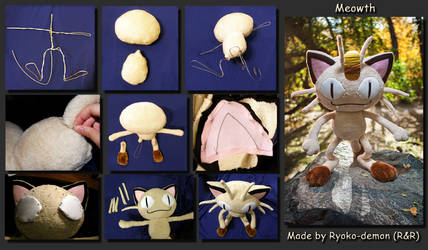 Meowth process by Ryoko-demon