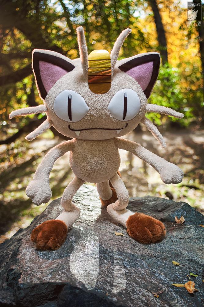 Meowth by Ryoko-demon