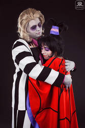 Lydia and Beetlejuice