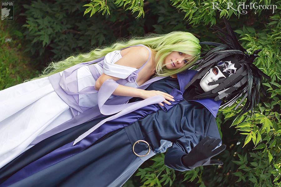 Hamona and Darcia by Ryoko-demon
