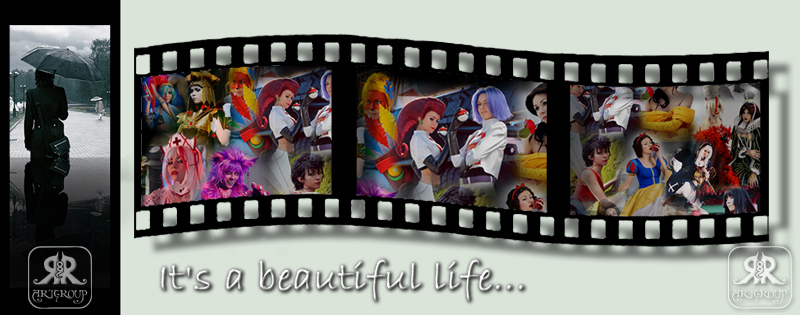 It's a beautiful life by Ryoko-demon