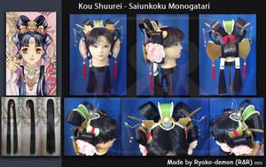 Kou Shuurei wig by Ryoko-demon
