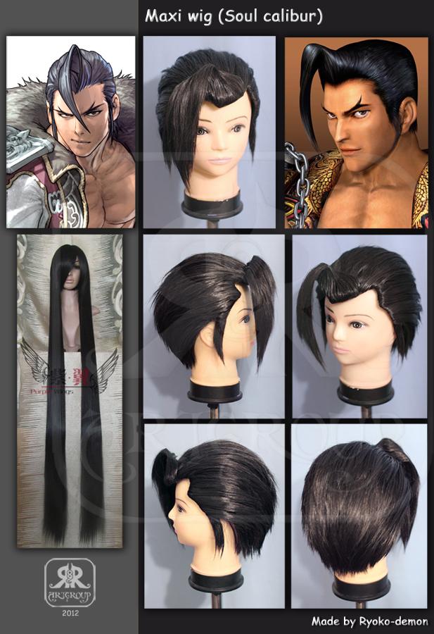 Maxi wig by Ryoko-demon