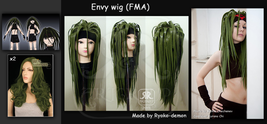 Envy wig by Ryoko-demon