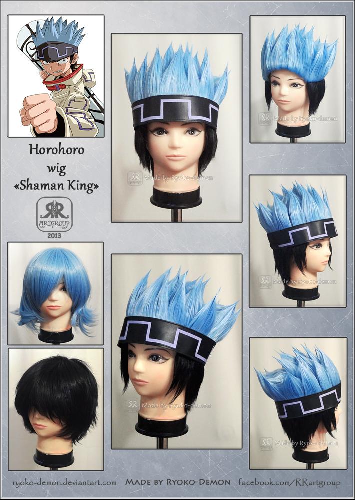 Horohoro wig by Ryoko-demon