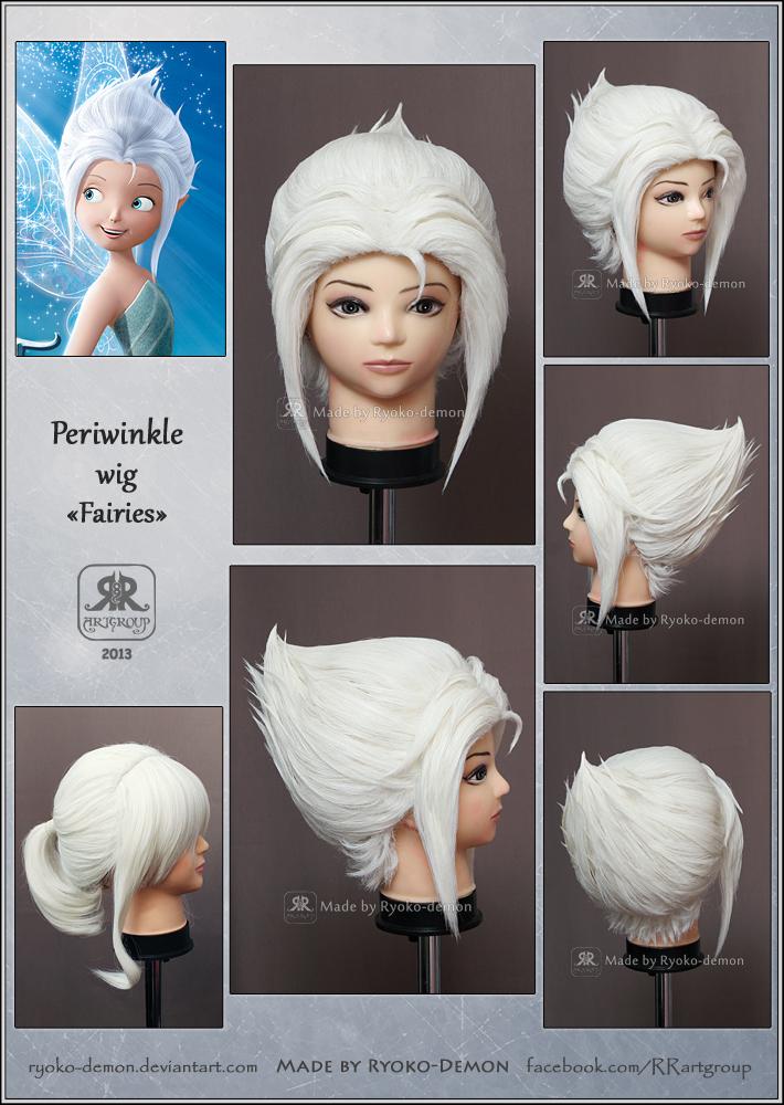 Periwinkle wig by Ryoko-demon