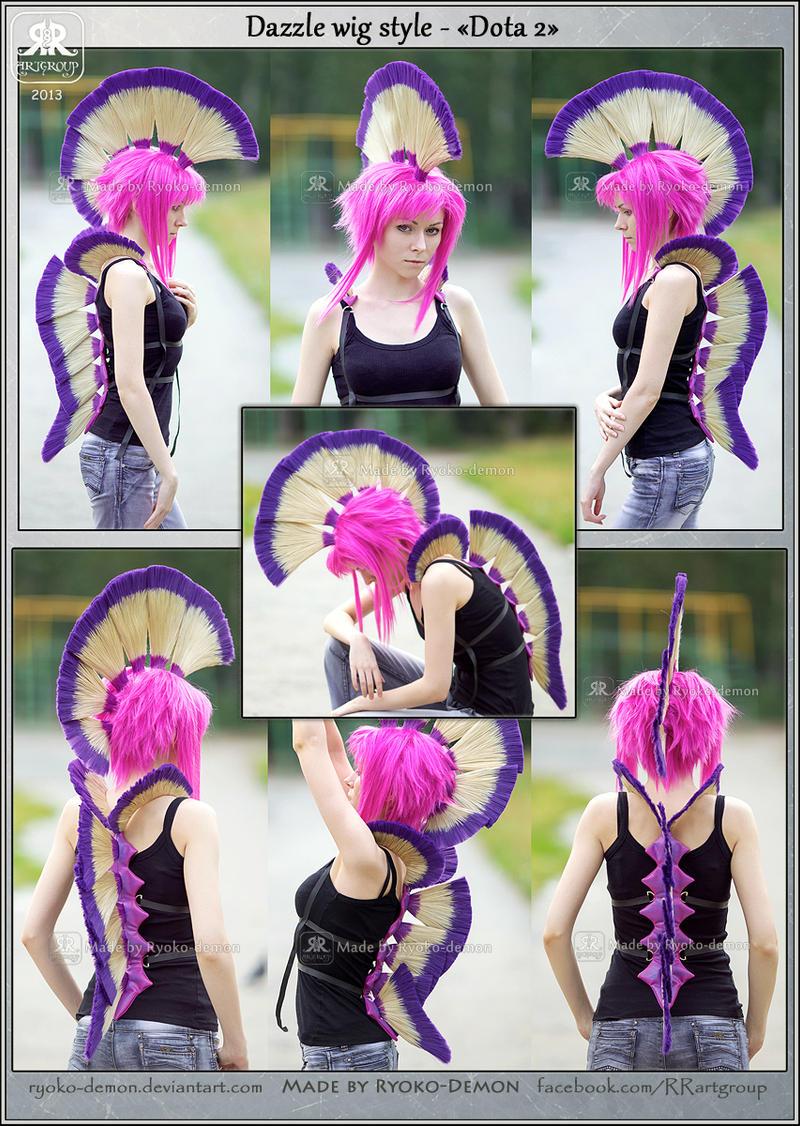 Dazzle wig style - Dota 2 by Ryoko-demon