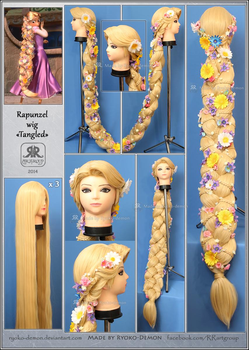 Как сделать парик рапунцель для куклы