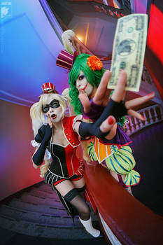A million dollars cosplay
