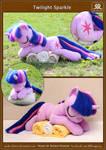 Sleeping Twilight Sparkle plushie