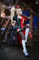 Dangerous Blonde by Ryoko-demon