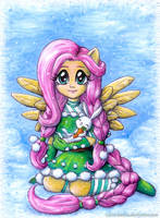 Christmas Flutty by Ryoko-demon