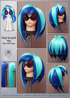 Vinyl Scratch wig