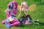 Pinkie and Flutty