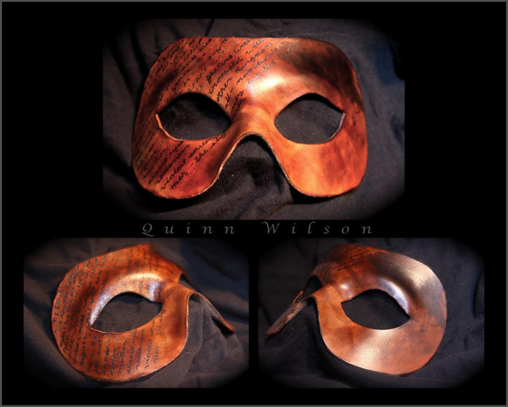 Poetry Mask by Drocan