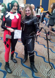 Catwoman and Harley Quinn