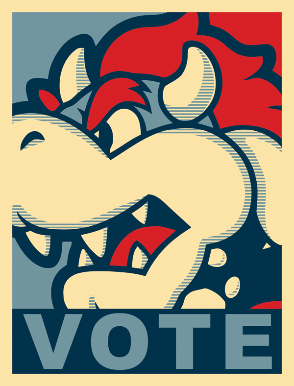 King Bowser Poster by NAMEISNAME