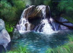 Waterfall Of Tranquillity